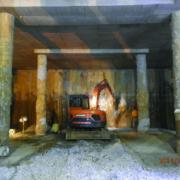 Construcción de 3 niveles de sótano sin anclajes de top-down para edificación de viviendas en el centro de Bera de Bidasoa, Navarra