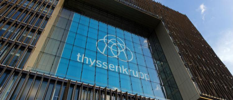 El centro de servicios del acero de El Puig pertenece a thyssenkrupp