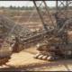 Los rodamientos NSK en una excavadora de rueda de cangilones
