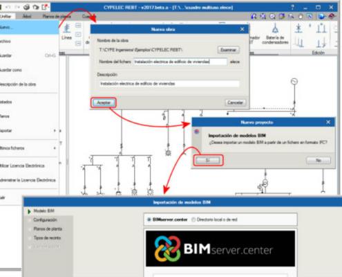 """CYPE implanta en su software la plataforma """"BIMserver.center"""""""