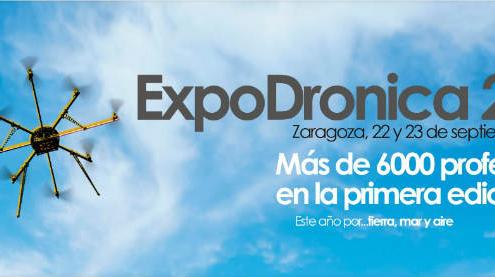 Novedades que se presentarán en Expodrónica 2016