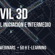 Curso CIVIL 3D intensivo: Nivel iniciación e intermedio