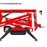 Plataforma aérea de orugas Lightlift 15.70 Performance IIIS