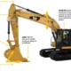 Cat® GRADE con Assist para excavadoras hidráulicas