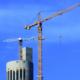Liebherr monta una grúa torre a 225 metros de altura