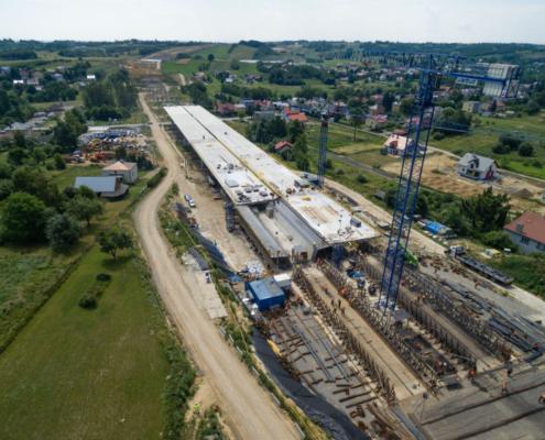 ULMA utiliza el método de puente empujado en Polonia