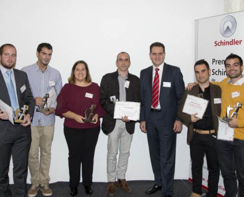 Sexta Edición de los Premios Schindler España de Arquitectura