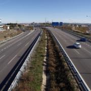 Fomento finaliza los cortes de carril en el enlace de la autovía A-5 de Extremadura con la circunvalación M-40 en Madrid