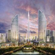 El símbolo del nuevo skyline de Dubai será la torre de Santiago Calatrava