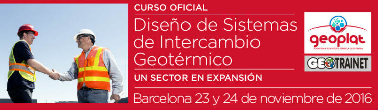 Segunda edición del curso formación oficial en Diseño de Sistemas de Intercambio Geotérmico