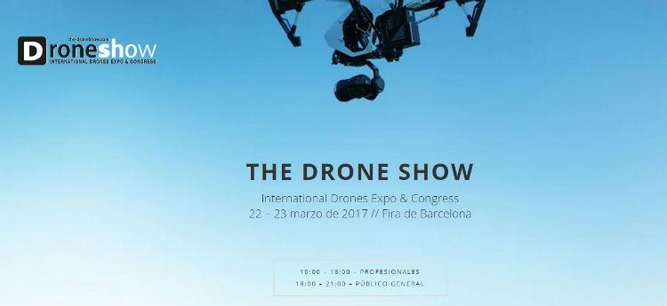 """""""The Drone Show"""", la mayor exposición y congreso de drones, aterriza en Barcelona"""