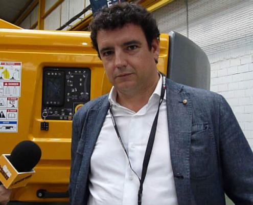 Entrevista a Haulotte en la Primera Fiesta de la Maquinaria de GAM