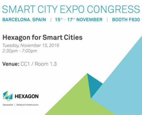 Hexagon SI vuelve a apostar por las ciudades inteligentes en Smart City Expo World Congress 2016