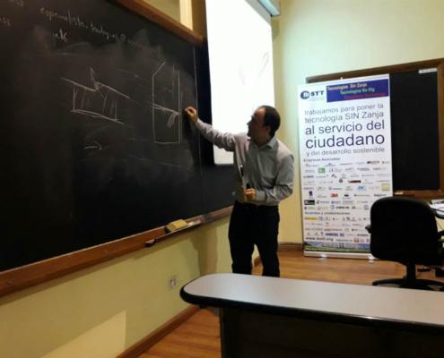 MC Spain participa como especialista en el curso de posgrado sobre tecnologías sin zanja