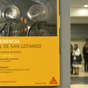 Conferencias Sika sobre el Túnel de San Gotardo