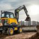 Excavadora compacta Volvo EW60E: Todo el confort a su servicio