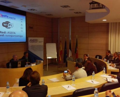"""Asefa Seguros acoge en su sede en Madrid el """"Encuentro de Socios de ANERR"""""""