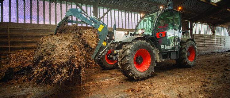 Nueva gama de cargadoras telescópicas Bobcat para agricultura