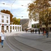 Calatrava diseña el edificiodeoficinasHauszum Falken