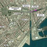 Metro de Málaga. Tramo: Guadalmedina - Atarazanas