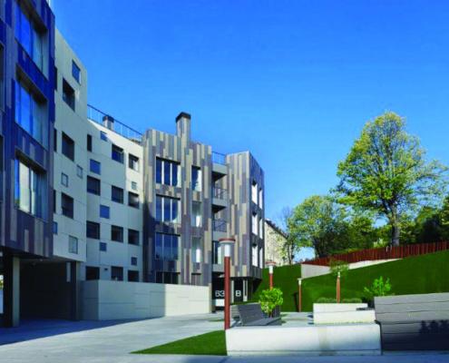 Soluciones ROCKWOOL en la construcción de un bloque de viviendas en la localidad de Bilbao