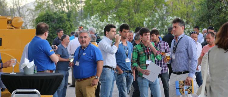 Barloworld Finanzauto reunió en Málaga importantes Empresas de maquinaria de Movimiento de Tierras, Canteras, Manipulación de materiales e Industrias afines