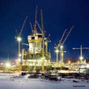 Las grúas torre de Liebherr trabajan en la construcción del edificio más alto de Europa