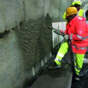Construcción del túnel de base de la Variante de Valico