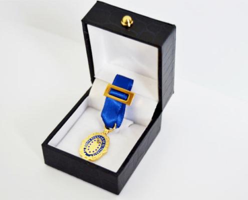 Geobrugg Ibérica recibe la Medalla de Oro Europea al Mérito en el Trabajo
