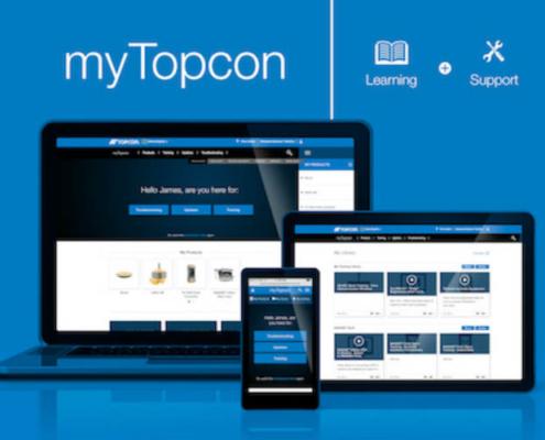 Topcon anuncia el lanzamiento de la web myTopcon