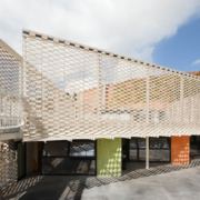 Flexbrick en la nueva escuela Virolai Petit de Barcelona