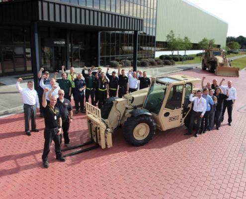 JCB consigue un contrato de 142 millones de dólares con el Ejército de EEUU