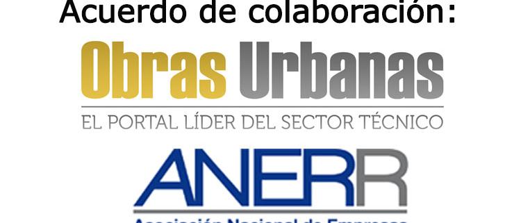Obras Urbanas y ANERR firman un acuerdo de colaboración