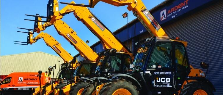 JCB consigue un gran contrato de la empresa alquiladora Ardent