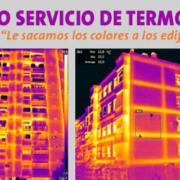 Servicio de termografía Saint-Gobain Placo para analizar la eficiencia energética de los edificios