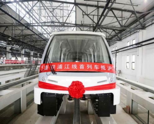 Primer vehículo sin conductor Bombardier con el sistema INNOVIA APM 300 en China