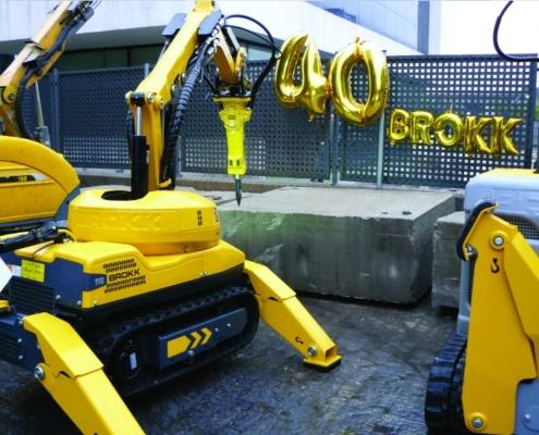 Brokk presenta el nuevo robot de demolición Brokk 110