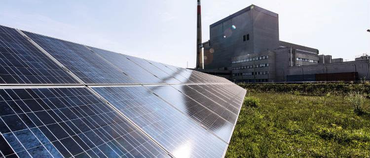 Fronius instala un sistema fotovoltaico en una antigua planta nuclear