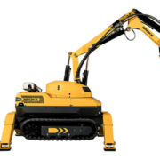 Brokk presenta el nuevo robot de demolición Brokk 120 Diésel II