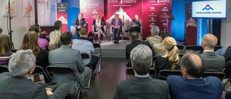 El Colegio de Aparejadores de Madrid celebra la jornada Casa Abierta