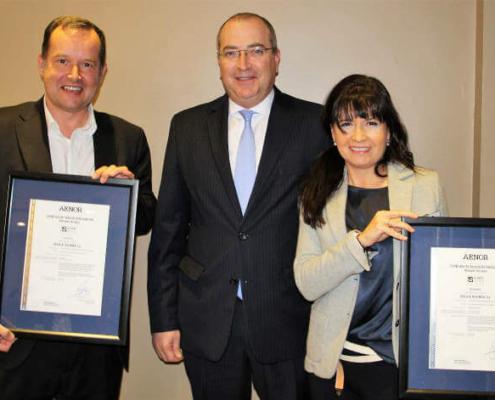 Primeros certificados AENOR de instalación de aislamiento con celulosa y lana mineral