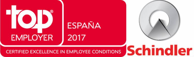 Schindler recibe la certificación Top Employers por décimo año consecutivo