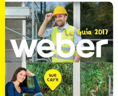 Guía Weber 2017: nuevas soluciones para la renovación y el hábitat sostenible
