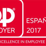 Alstom España, reconocida como Top Employer 2017