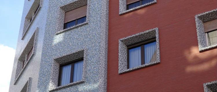 Rehabilitación eficiente de una fachada catalogada
