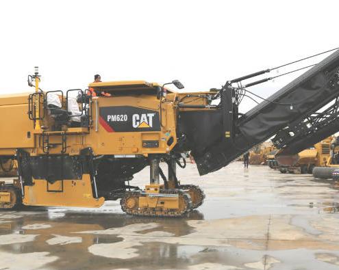 Nuevas Fresadoras de Pavimentos Caterpillar de la Serie 600