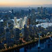 Santiago Calatrava presenta su plan de transformación de la Península de Greenwich
