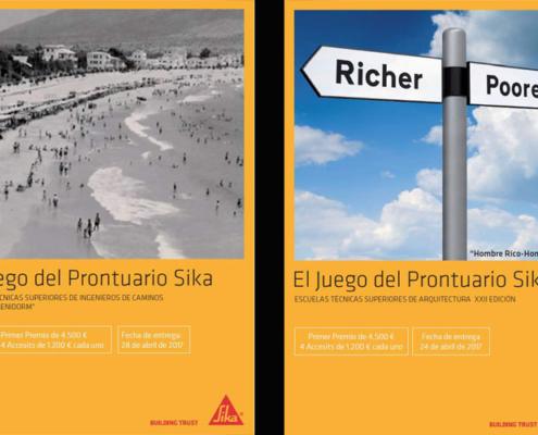 Nueva edición de los Premios del Prontuario Sika para estudiantes de Caminos y Arquitectura