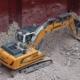Utilización de cinco excavadoras sobre cadenas R 918 de Liebherr en el puerto de Rávena