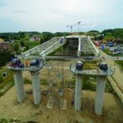 Tecnología de encofrado ULMA para dos puentes empujados en Polonia